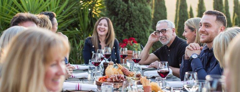 Olivigna Restaurant at Pietro Gallo Estate